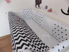 Увидеть фото Детская мебель Детское постельное белье в кроватку, бортики 38191260 в Краснодаре