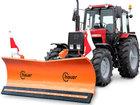 Смотреть foto  Отвал для уборки снега Hauer HSh 2800 на трактор МТЗ 38450941 в Коломне