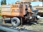 Уникальное фотографию Спецтехника Стационарный бетононасос Cifa PC 709 39583759 в Краснодаре