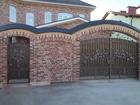 Уникальное фотографию  Кованые ворота, калитки на заказ в Краснодаре, 61134452 в Краснодаре