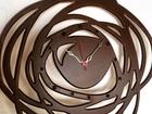 Скачать изображение  Настенные часы Роза на заказ 70166254 в Краснодаре
