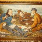 Картина В, Г, Перова Охотники на привале 1871г