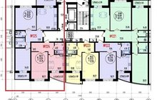 Двухкомтаная квартира 73 квадратных метров, Без процентов