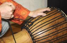 Ремонт, перетяжка, натяжка верёвочных барабанов Джембе