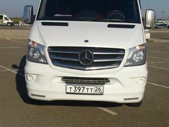 Скачать фотографию Авто на заказ Микроавтобус на заказ Мерседес Спринтер 20 мест 32274043 в Краснодаре