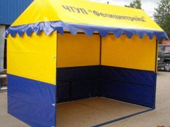 Уникальное foto Другие строительные услуги Торговые палатки 32457667 в Краснодаре