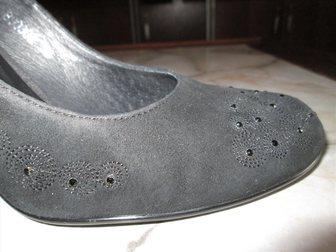 Скачать фото Женская обувь Продаю женские чёрные туфли немецкой фирмы Mascotte, р, 38 33000059 в Краснодаре