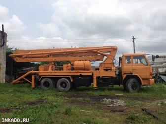 Увидеть фотографию Спецтехника Автобетононасос в хорошем состоянии продаю 33010747 в Краснодаре