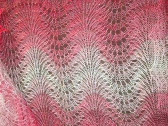Уникальное foto  Оренбургский пуховый шарф (палантин) «Самоцвет», фабричный 33811346 в Краснодаре