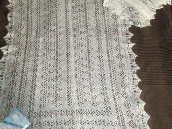 Увидеть фото Разное Оренбургский пуховый шарф белый, фабричный 33811361 в Краснодаре