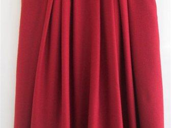 Новое изображение  Тренд сезона, Юбка бордо в складку, шерсть, р, 48, Мальта, 33832331 в Краснодаре