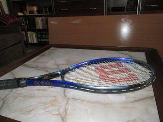 Смотреть фотографию  Легендарная теннисная ракетка WILSON EUROPA из Германии, 33989266 в Краснодаре