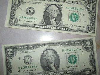 Смотреть изображение Коллекционирование Отличный подарок! Купюра 2 доллара США, UNC пресс 34270063 в Краснодаре