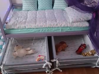 Скачать изображение Детская мебель Детская кровать Домик от производителя 38585566 в Краснодаре