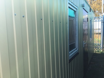 Свежее foto  Дачные металлические домики , бытовки утепленные 69684631 в Краснодаре