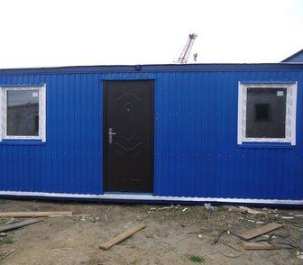 Фото в Бытовая техника и электроника Другая техника сдаю в аренду утепленные бытовки, стены отделаны в Краснодаре 0