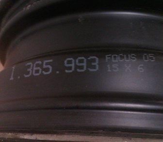 ���������� � ���� �������� ����� ������ 4 ����� Ford Focus 05 15x6 c ���� � ���������� 4�000