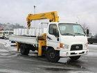 Смотреть изображение Грузовые автомобили Грузовой-бортовой Hyundai HD78 c манипулятором Soosan SCS 335 35015460 в Красноярске