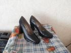 Фото в   Продам новые, импортные, чёрные туфли. Натуральная в Красноярске 1000