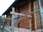 Скачать foto  Сруб дома 8х8 с 2 перегородками из профилированного бруса 59442132 в Красноярске