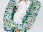 Гнездышко-кокон для новорожденных