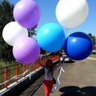 Гелиевые шары, Оформление шарами