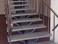 лестницы металлические выездные сварочные работы, резка металла. изготовление за