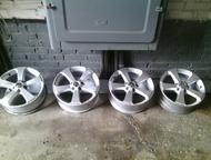Литые диски Продам колесные литые диски r-17 покупались у дилера на пассат , в х