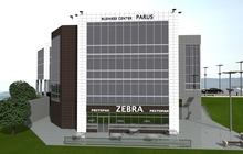 Офисный бизнес-центр, незавершенное строительство