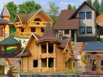 Уникальное foto Строительство домов Строительство, Дома, Дачи, Коттеджи, Бани, Постройки, 17902872 в Красноярске