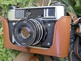 Скачать бесплатно изображение  2 фотоаппарата фэд 5 33092595 в Красноярске