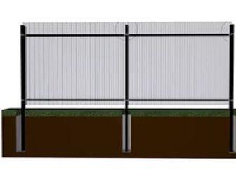 стоимость квадратного столба на забор 100 без проблем найдете