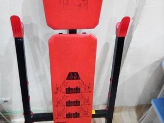 Просмотреть фотографию Спортивный инвентарь Продам ШТАНГу для ЖИМа лёжа( в комплекте с скамьёй и блинами) 66419393 в Красноярске