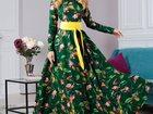 Смотреть изображение  Длинное дизайнерское платье, все размеры 34270908 в Санкт-Петербурге