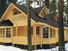 Фото в   Строительство деревянных домов из оцилиндрованного в Балахне 1350000