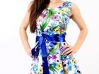 Фотография в   Модное летнее платье оптом. Стильный фасон, в Москве 300