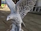 Смотреть фотографию  Скульптура из бетона Орел выс, 60 см, вес 30 кг, 38453890 в Мытищи