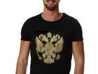 Скачать бесплатно фото  Дизайнерские футболки,толстовки и иной текстиль с аппликацией кристаллами и металлом 39162079 в Москве