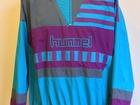 Увидеть фотографию  Раритетный костюм 90-х Hummel Настоящий винтаж Олимпийка-анорак и штаны 39215946 в Москве