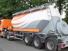 Новое изображение  Услуги цементовозов, перевозки сыпучих грузов 76078316 в Санкт-Петербурге