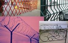 Заборы и ограды, Готовые, Крашенные