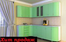 Кухонный гарнитур фасады из пластика