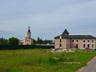 Увидеть фотографию  Участок 9 сотки около озера, ПМЖ, новая Москва, лес, монастырь 34847416 в Москве