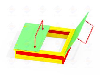 Просмотреть foto  Детские песочницы с крышкой и без, песочные дворики 35874699 в Саратове