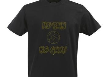 Увидеть фотографию  Дизайнерские футболки и иной текстиль с аппликацией стразами и металлом (заклепками) 39331778 в Москве