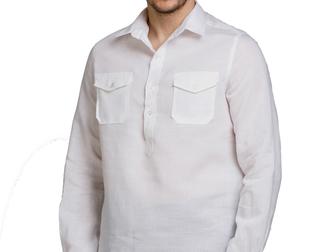 Новое изображение  Мужские льняные рубашки оптом 39334677 в Москве