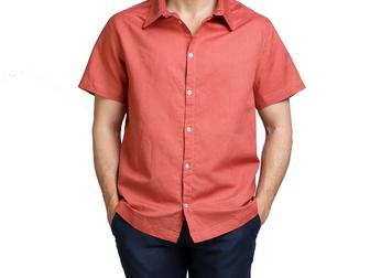 Свежее фотографию  Мужские льняные рубашки оптом 39334677 в Москве