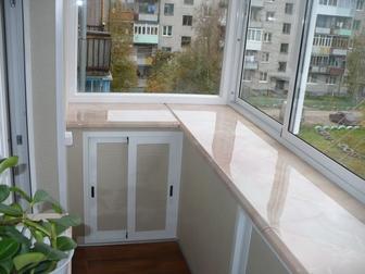 Уникальное foto  Остекление, ремонт и обустройство балкона под ключ 39341999 в Москве