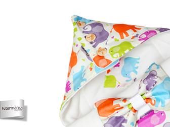 Увидеть фото  Конверт на выписку для новорожденного Futurmama Color Elefant 39465755 в Архангельске