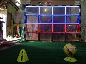 Свежее фото  Эксклюзивный футбольный аттракцион ФутГол, Бизнес для всех 39773128 в Москве